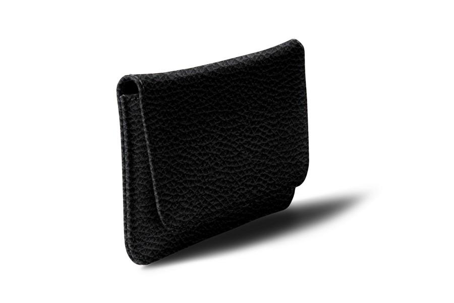 tui ceinture iphone se 5 5s noir cuir grain iphone se apple. Black Bedroom Furniture Sets. Home Design Ideas