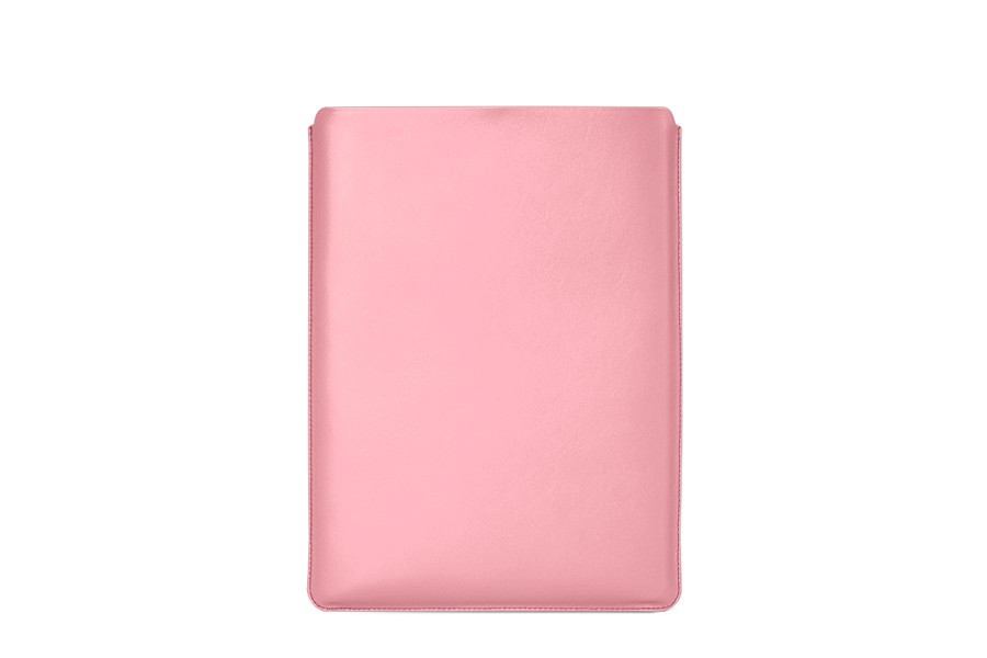 Housse macbook pro 15 touch bar 2016 rose cuir for Housse macbook pro 15