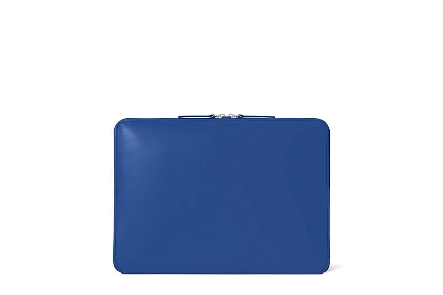 Housse zipp e macbook pro 13 touch bar 2016 bleu roi for Housse cuir macbook pro 13