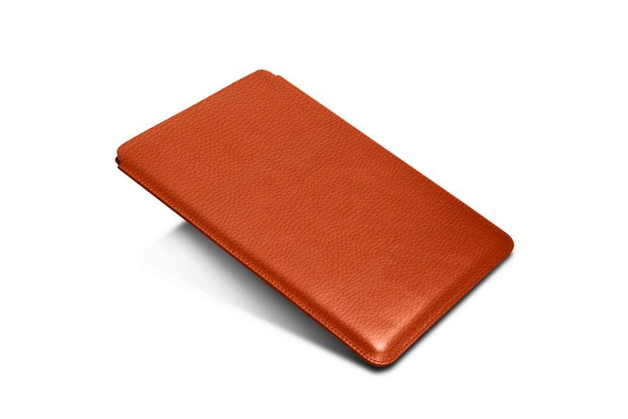 Hülle für iPad Pro 10.5-Zoll  - Orange - Leder genarbt