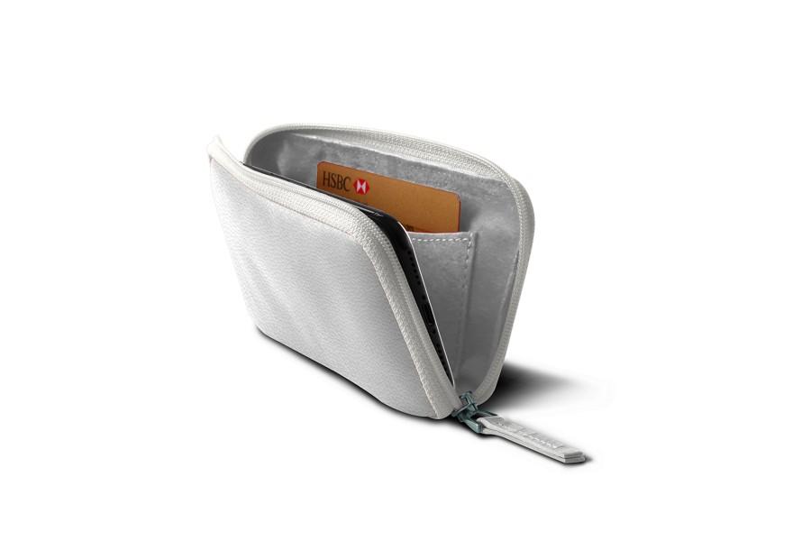 Housse zipp e iphone x blanc cuir grain iphone x for Housse zippee
