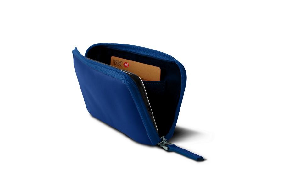 Housse zipp e iphone x bleu roi cuir lisse iphone x for Housse zippee