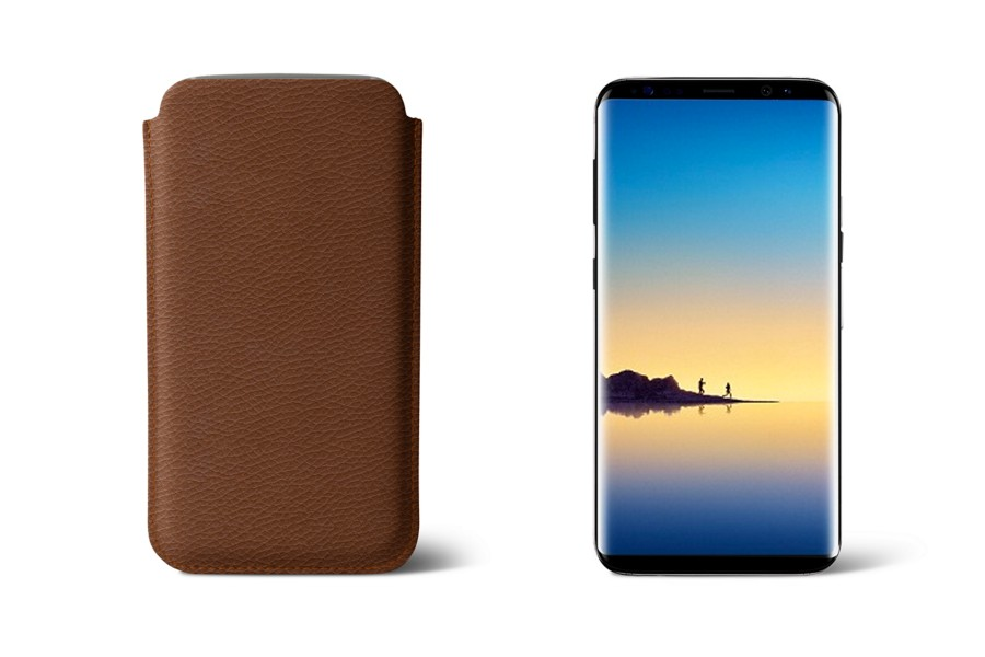 Housse en cuir pour samsung galaxy note 8 for Housse galaxy note 8