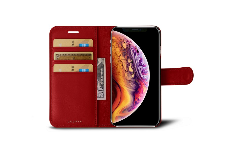 Funda con billetera para iPhone XS Max