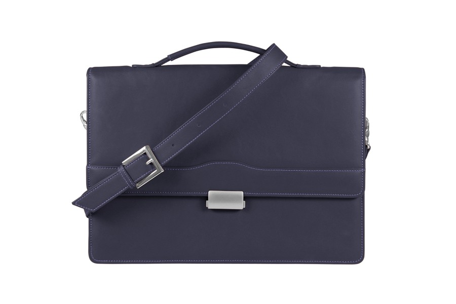 Classic briefcase with 1 gusset