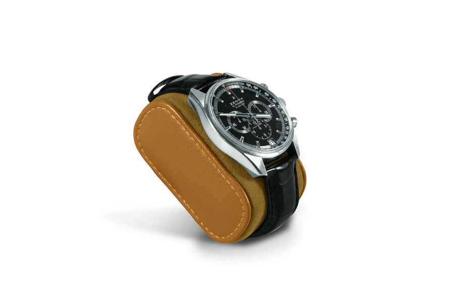 Leather Cushion for men watch - Natural