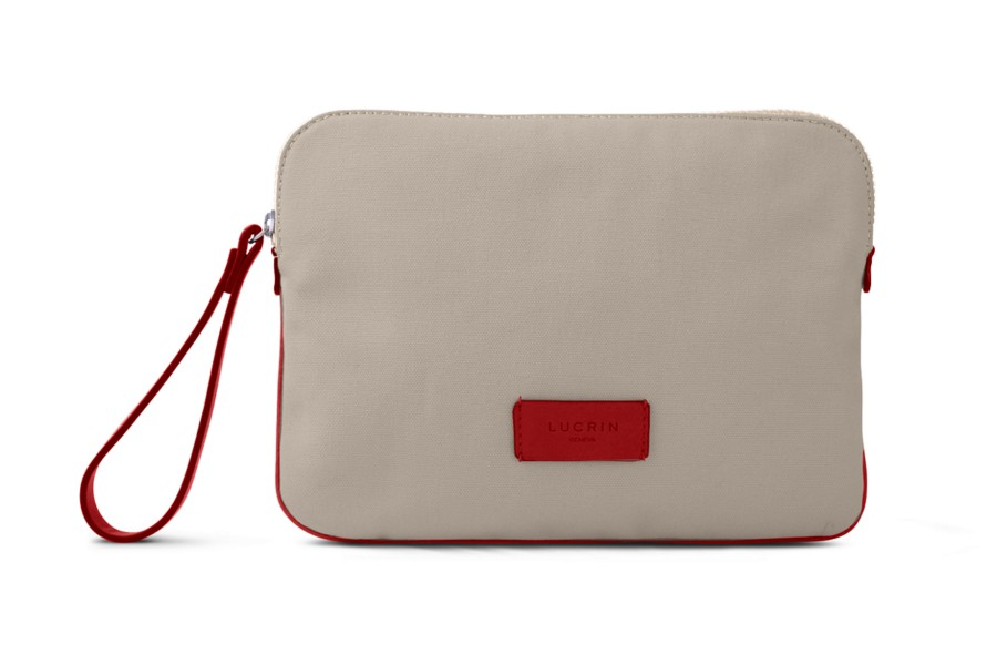 Canvas Clutch Bag