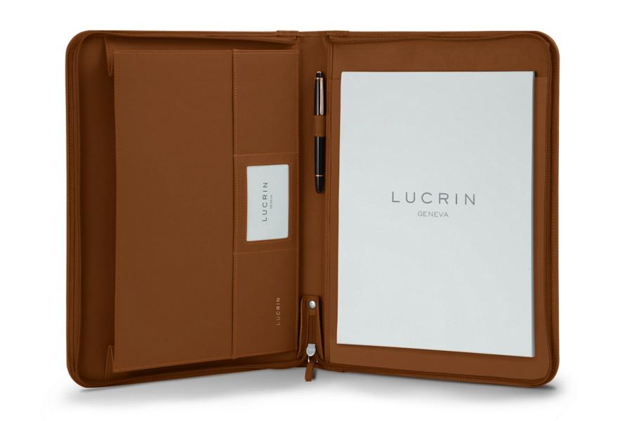 porte documents a4 avec soufflet cognac cuir lisse bureau. Black Bedroom Furniture Sets. Home Design Ideas