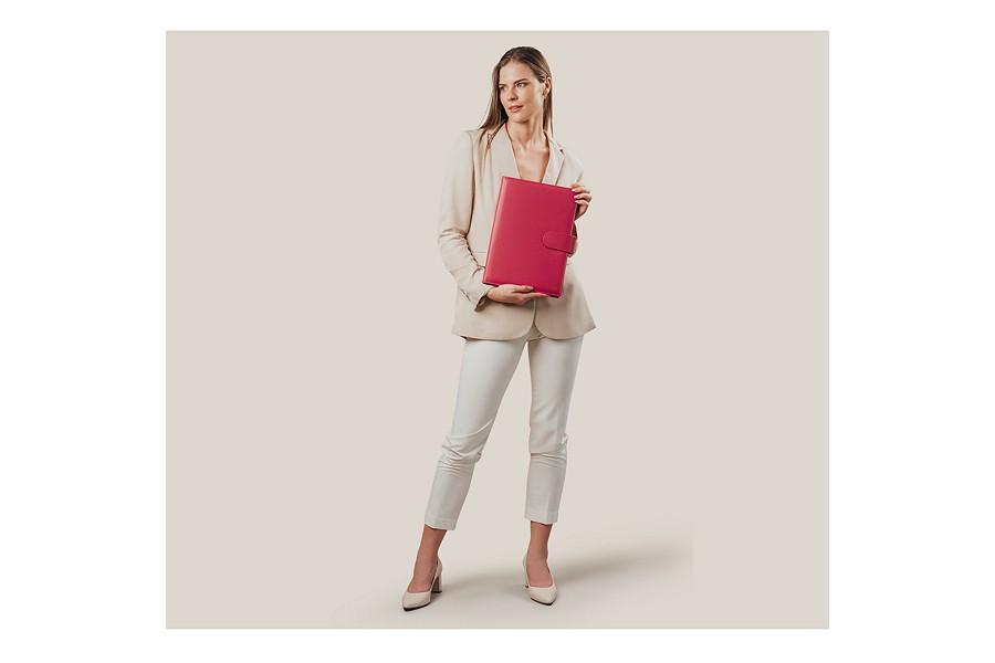 porte documents a4 languette cognac cuir lisse bureau. Black Bedroom Furniture Sets. Home Design Ideas