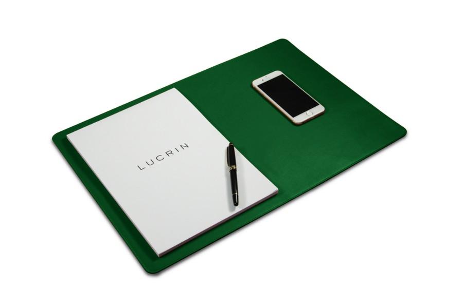 Sottomano Scrivania Verde : Sottomano morbido 50 x 34 cm