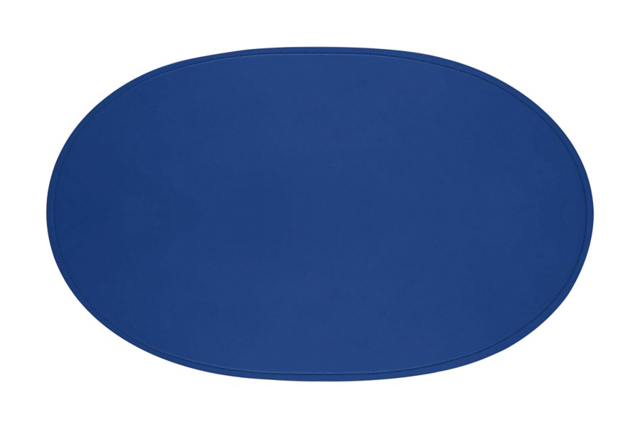 Large oval Desk pad 25.6 x 15.7 inches