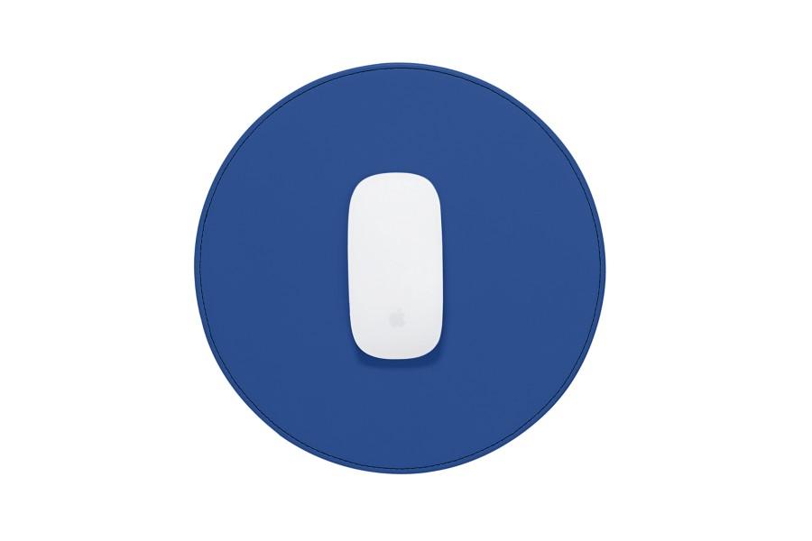 Tapis de souris rond en cuir personnalis - Tapis de souris rond personnalise ...