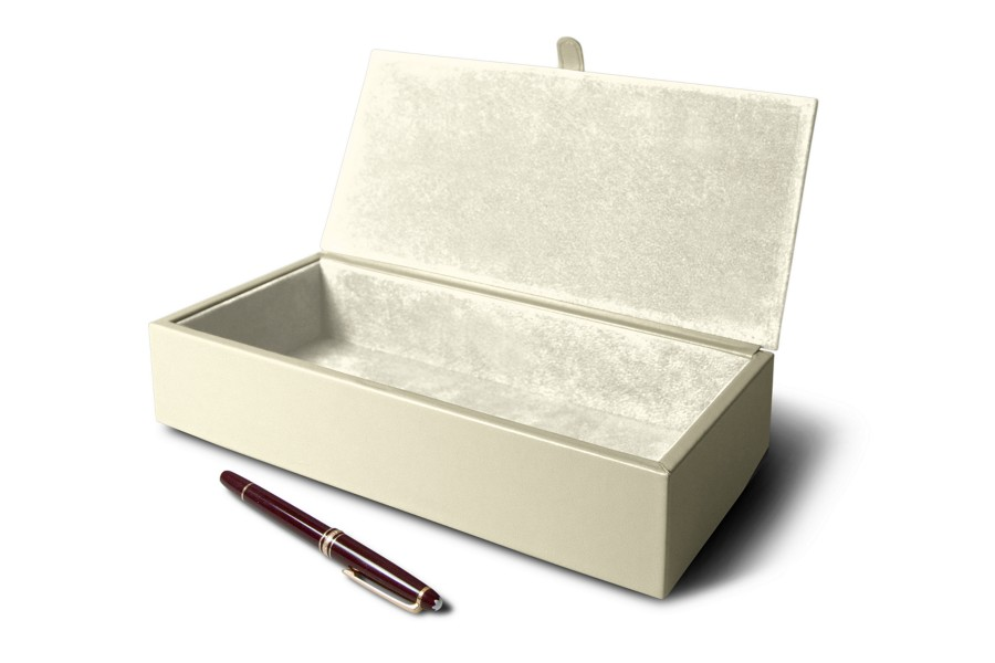 Rectangular storage box