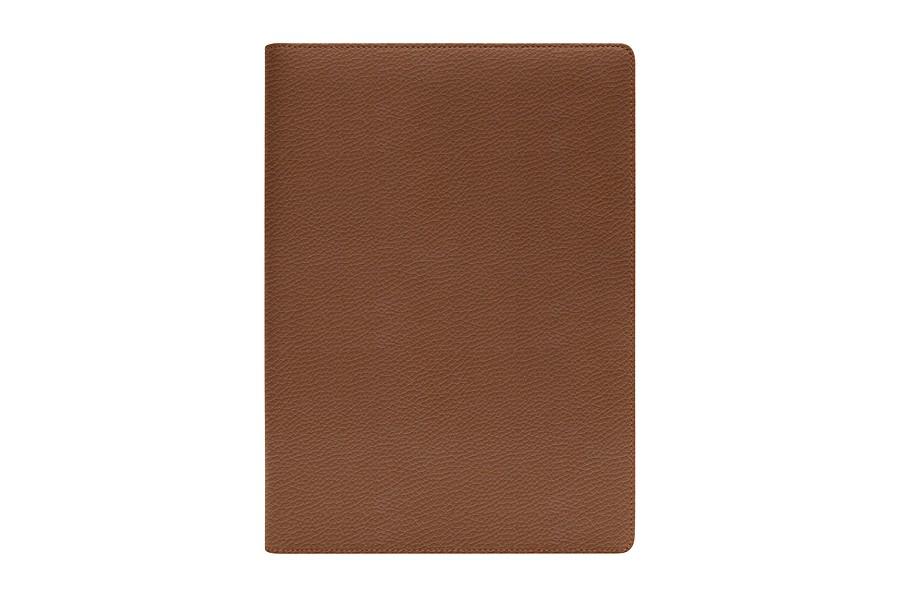 porte documents business a4 cognac cuir grain bureau. Black Bedroom Furniture Sets. Home Design Ideas