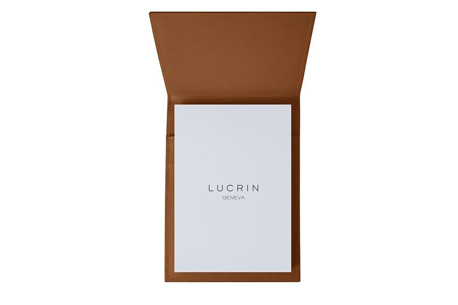 bloc notes a5 cognac cuir lisse conf renciers. Black Bedroom Furniture Sets. Home Design Ideas