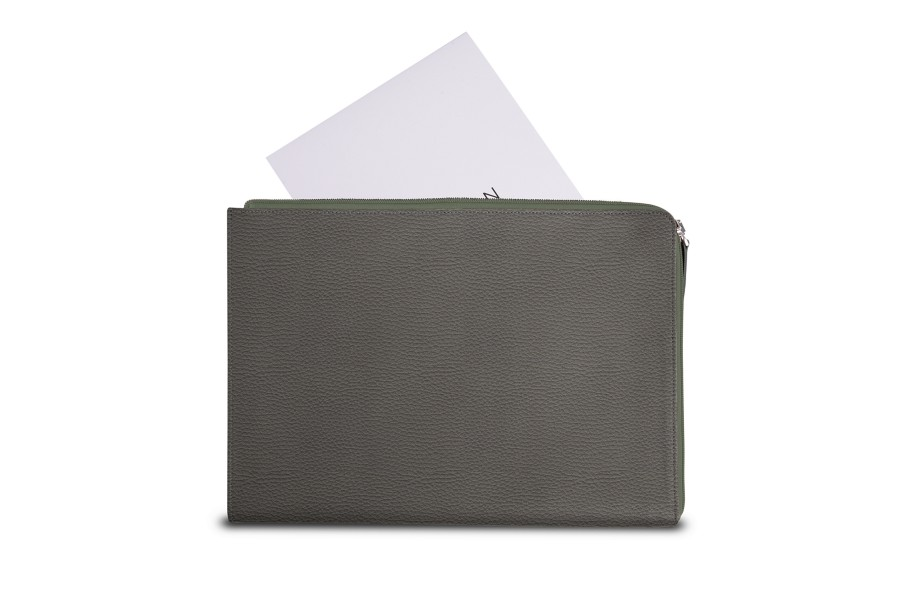A4 Padfolio with zip