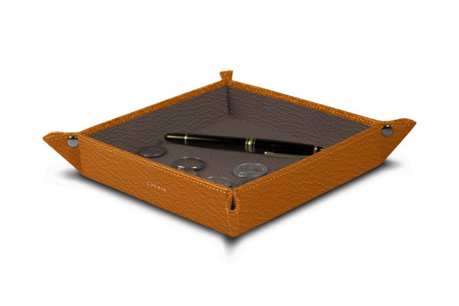 Square tidy tray (8.27 x 8.27 x 1.38 inches)