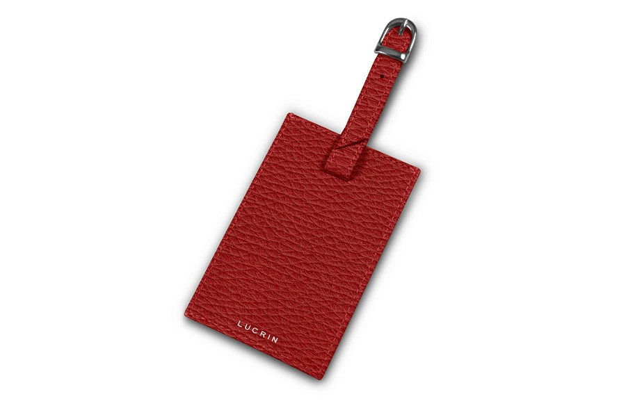 Rectangular bag tag