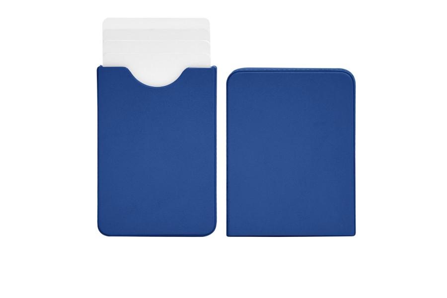 Sliding case for business cards