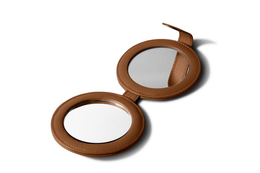 Round dual mirror