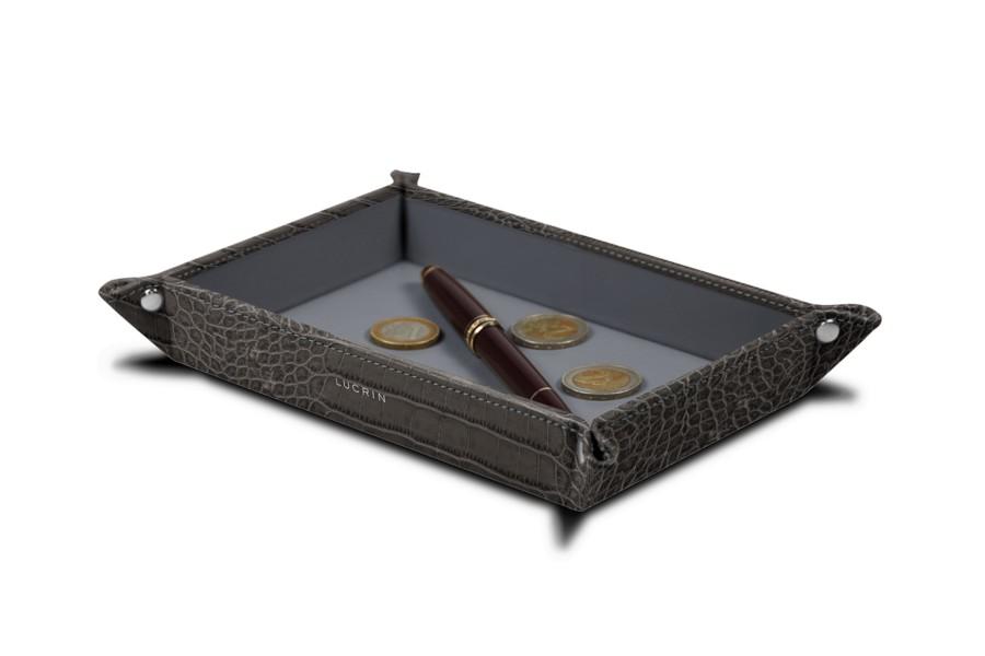 Rectangular tidy tray (21 x 15 x 2.5 cm)