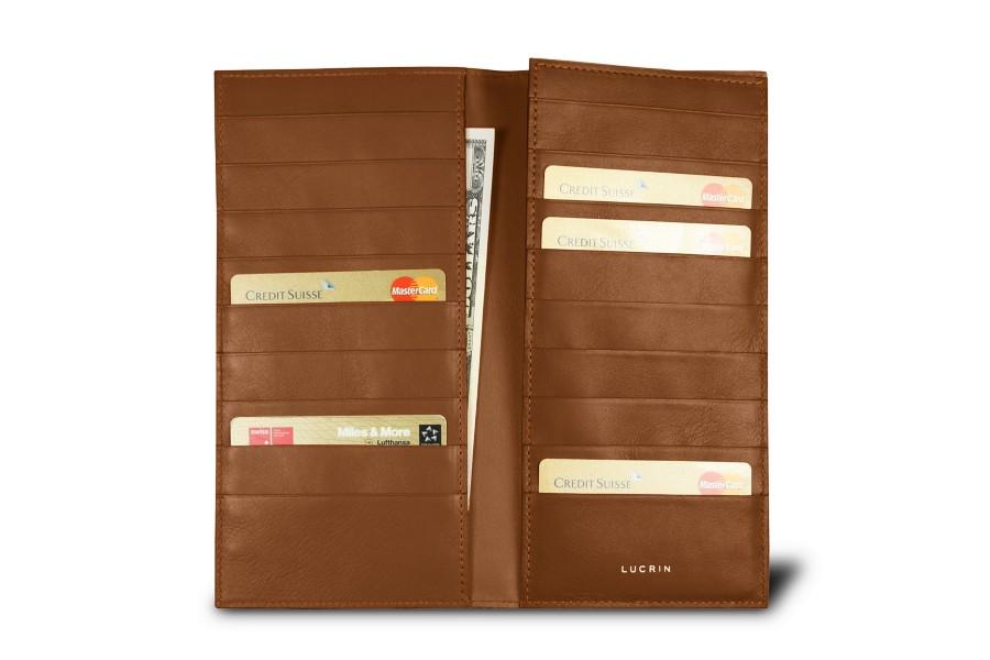 18-Compartment card case