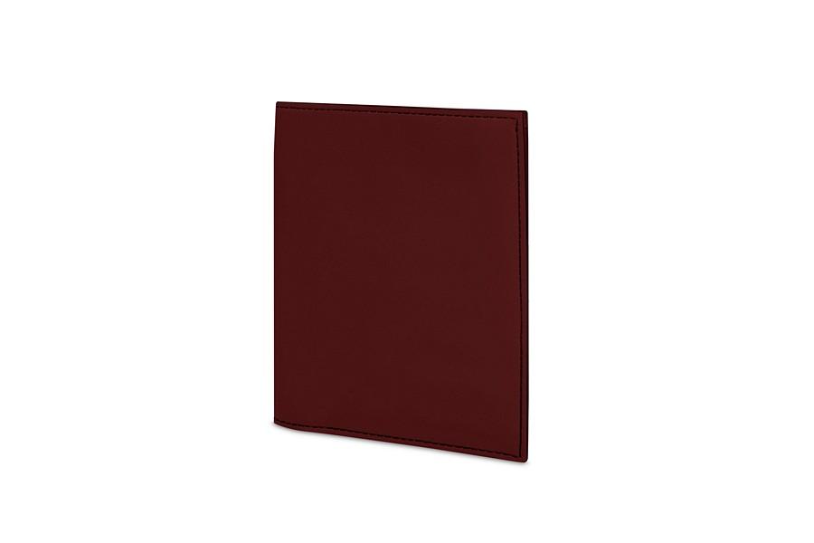 Portefeuille luxe bordeaux cuir lisse for Porte 15 bordeaux