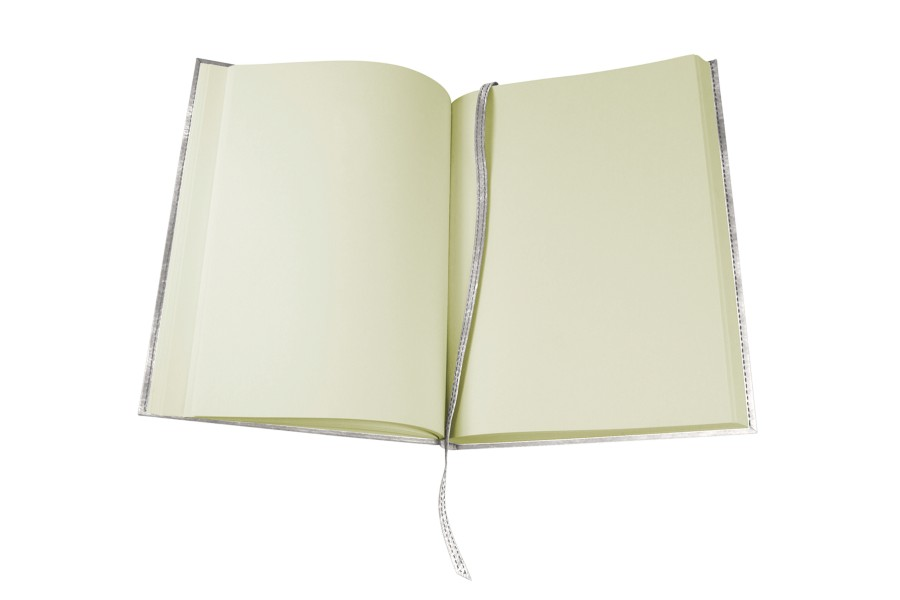 Medium-sized visitors book