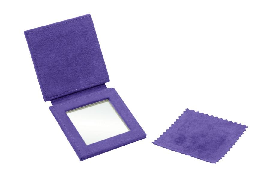 "Square pocket mirror (2.6"" x 2.6"")"