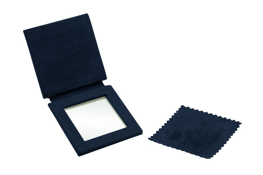 "Square pocket mirror (2.6"" x 2.6"")"