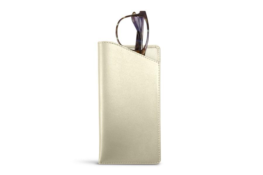 Housse pour lunettes standards blanc cass cuir lisse for Housse standards