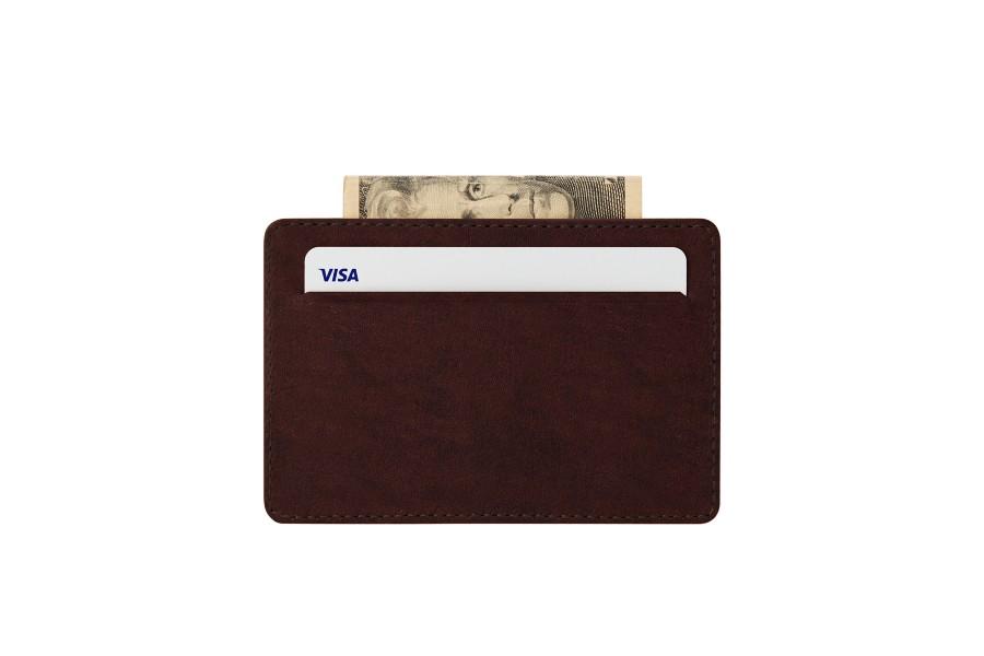 Hoesje voor 2 creditcards