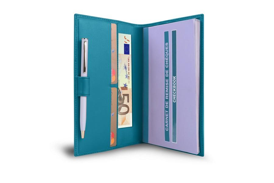 Chequeboek-portemonnee