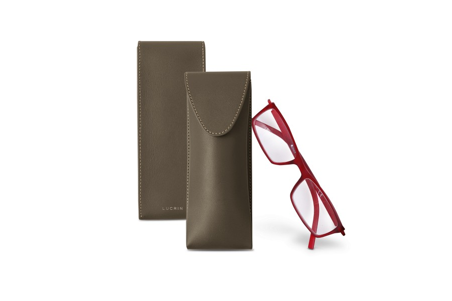 Thin glasses cases Goat Leather Lucrin